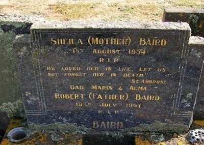 Picture of Taruheru cemetery, block 22, plot 349.