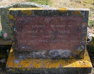 Picture of Taruheru cemetery, block 22, plot 350.