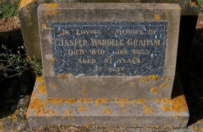 Picture of Taruheru cemetery, block 22, plot 389.