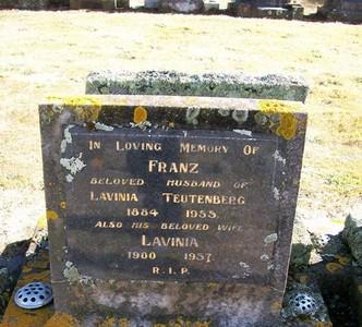 Picture of Taruheru cemetery, block 22, plot 424.