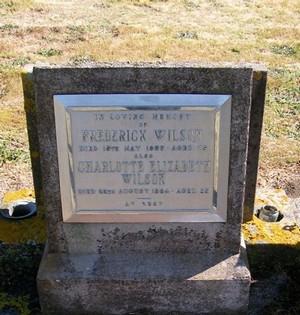 Picture of Taruheru cemetery, block 22, plot 428.
