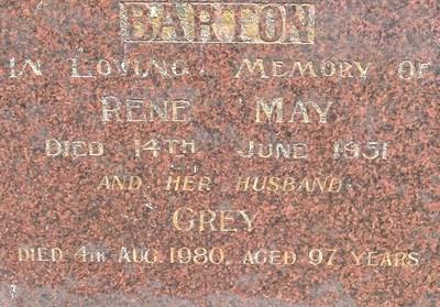 Picture of Taruheru cemetery, block 22, plot 44.