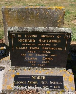 Picture of Taruheru cemetery, block 22, plot 445.