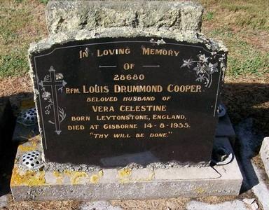 Picture of Taruheru cemetery, block 22, plot 466.