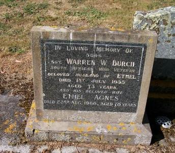 Picture of Taruheru cemetery, block 22, plot 470.