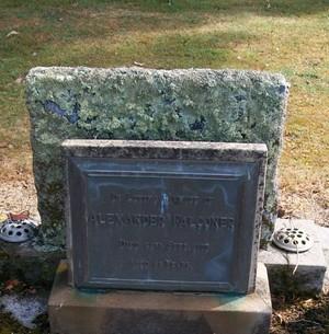 Picture of Taruheru cemetery, block 22, plot 493.