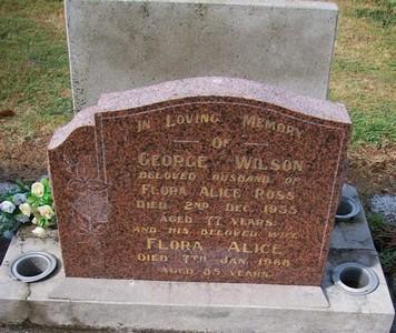Picture of Taruheru cemetery, block 22, plot 518.