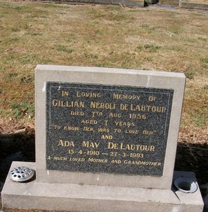 Picture of Taruheru cemetery, block 22, plot 529.