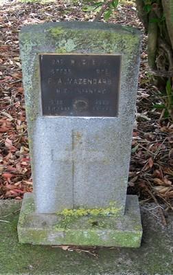 Picture of Taruheru cemetery, block 22, plot 545.