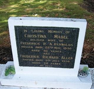 Picture of Taruheru cemetery, block 22, plot 565.