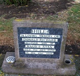Picture of Taruheru cemetery, block 22, plot 573.