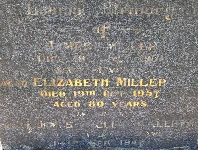 Picture of Taruheru cemetery, block 22, plot 89.