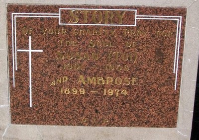 Picture of Taruheru cemetery, block 25, plot 163.