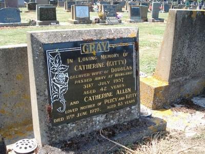 Picture of Taruheru cemetery, block 25, plot 172.