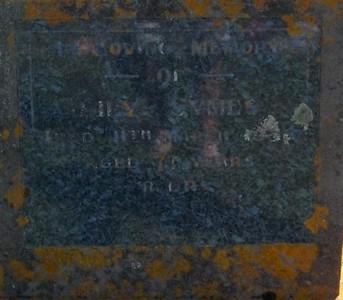 Picture of Taruheru cemetery, block 25, plot 183.
