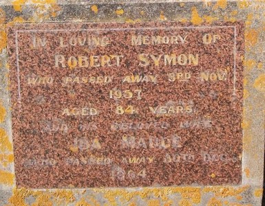 Picture of Taruheru cemetery, block 25, plot 200.