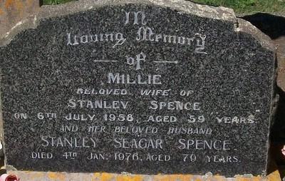 Picture of Taruheru cemetery, block 25, plot 276.