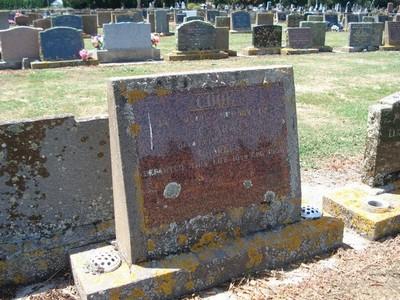 Picture of Taruheru cemetery, block 25, plot 305.