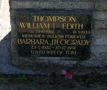 Picture of Taruheru cemetery, block 25, plot 368.