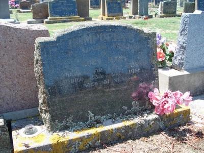 Picture of Taruheru cemetery, block 25, plot 372.