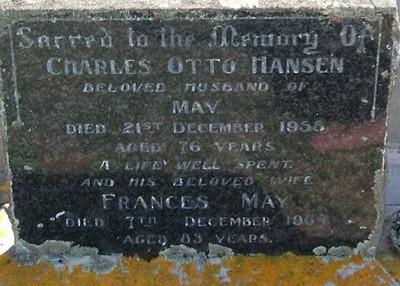 Picture of Taruheru cemetery, block 25, plot 379.