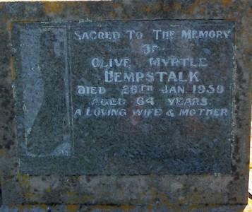 Picture of Taruheru cemetery, block 25, plot 383.