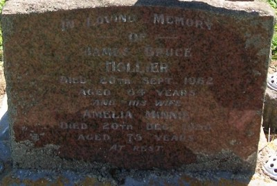 Picture of Taruheru cemetery, block 25, plot 390.