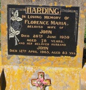 Picture of Taruheru cemetery, block 25, plot 397.