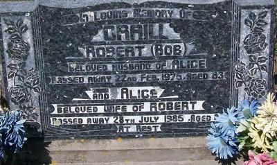 Picture of Taruheru cemetery, block 25, plot 421.