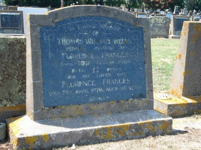 Picture of Taruheru cemetery, block 25, plot 443.