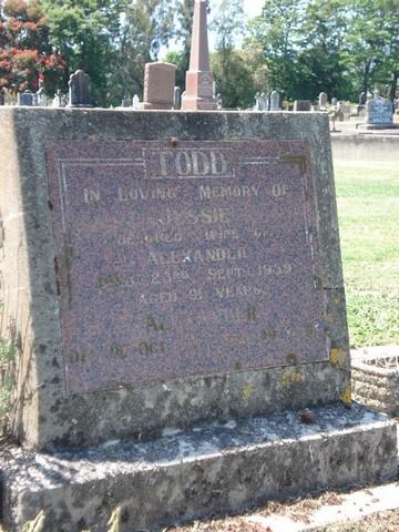 Picture of Taruheru cemetery, block 25, plot 459.
