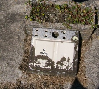 Picture of Taruheru cemetery, block 25, plot 466.