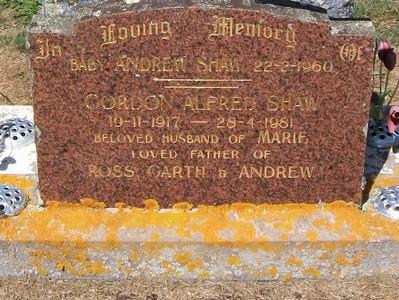 Picture of Taruheru cemetery, block 25, plot 473.