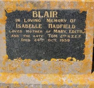 Picture of Taruheru cemetery, block 25, plot 485.