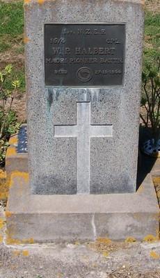 Picture of Taruheru cemetery, block 25, plot 488.
