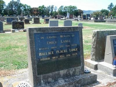 Picture of Taruheru cemetery, block 25, plot 61.