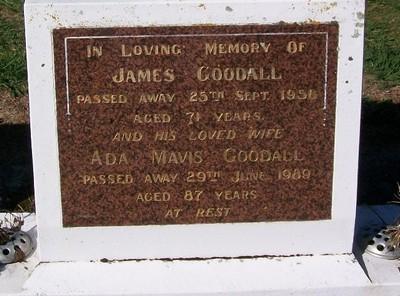 Picture of Taruheru cemetery, block 25, plot 75.