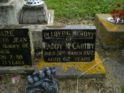 Picture of Taruheru cemetery, block 26ASH, plot 14A.