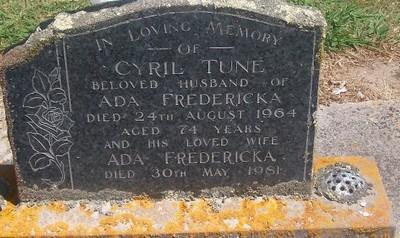 Picture of Taruheru cemetery, block 26, plot 130.