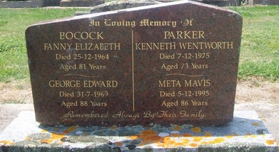 Picture of Taruheru cemetery, block 26, plot 164.