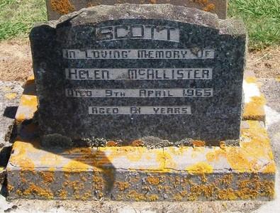 Picture of Taruheru cemetery, block 26, plot 205.