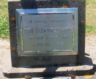 Picture of Taruheru cemetery, block 26, plot 230.