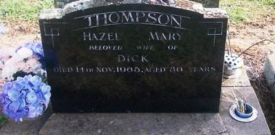 Picture of Taruheru cemetery, block 26, plot 307.