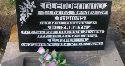 Picture of Taruheru cemetery, block 26, plot 338.