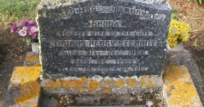 Picture of Taruheru cemetery, block 26, plot 341.