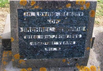 Picture of Taruheru cemetery, block 26, plot 354.