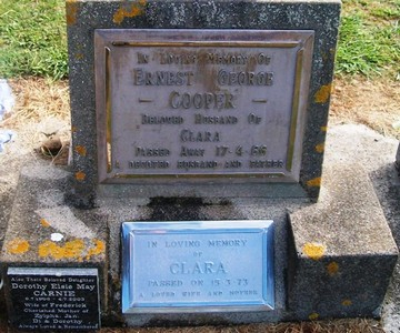 Picture of Taruheru cemetery, block 26, plot 359.