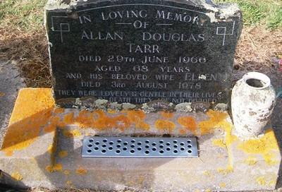Picture of Taruheru cemetery, block 26, plot 375.