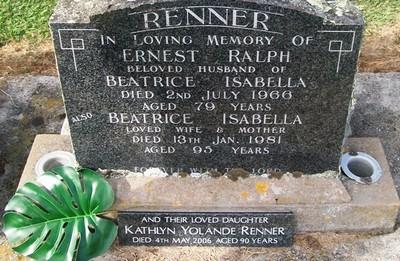 Picture of Taruheru cemetery, block 26, plot 388.