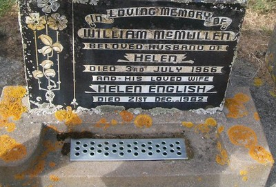 Picture of Taruheru cemetery, block 26, plot 393.